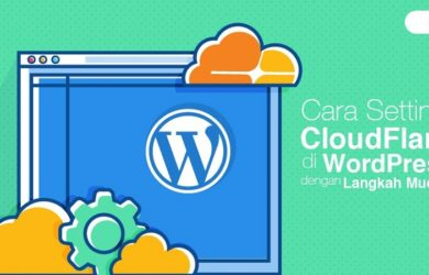 Pengaturan CloudFlare di Website