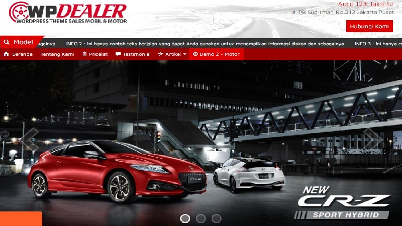 wp dealer theme