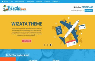 wizata theme tour dan travel