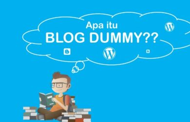 Promosi Optimal dengan Blog Dummy
